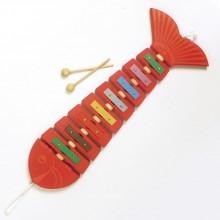 Xylophon Fisch MANUFAKTUR WIENER Rot oder Blau