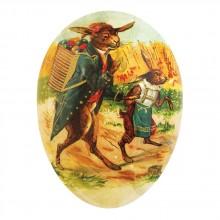 NESTLER Papp-Füll-Osterei Hasenpapa 12 cm