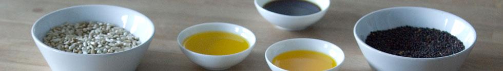 Kaltgepresste Bio Speiseöle