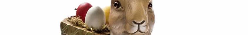 Marolin Osterhasen aus Pappmaché
