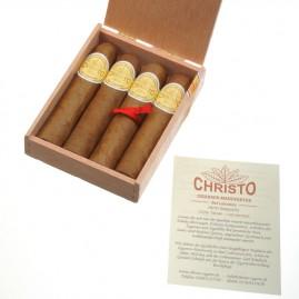 CHRISTO Zigarren Petit Robusto, 4 Stück