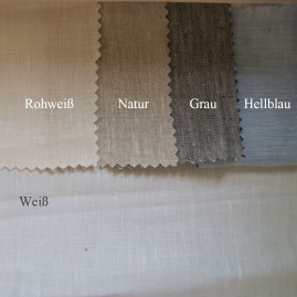 Leinen-Spannbettlaken-verschiedene Farben-mittelgrob-oder-fein