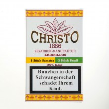 CHRISTO Zigarillos 6er-Pack Sumatra oder Brasil