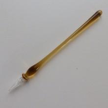 Lauschaer-Glas-Schreibfeder-transparent-Gelb.jpg