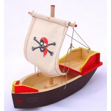 Ogas-Holzschiff-Spielschiff-Segelboot