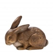 MAROLIN Osterhase Kuschelhase, braun, aus Pappmaché , Höhe 10 cm